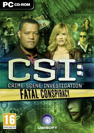 CSI: Fatal Conspiracy Box Cover