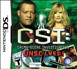 CSI: Unsolved! - Cover art