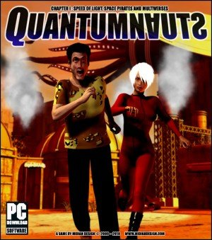 Quantumnauts: Chapter 1 - Speed of Light, Space Pirates and Multiverses Box Cover