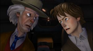 Back to the Future: Episode 2 - Get Tannen! Screenshot #1
