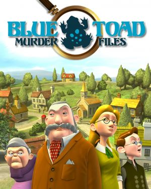Blue Toad Murder Files: The Mysteries of Little Riddle Box Cover