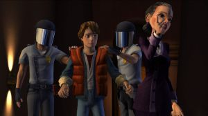 'Back to the Future: The Game - Screenshot #5