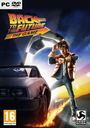 Back to the Future: The Game Box Cover