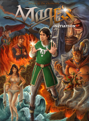 Mage's Initiation: Reign of the Elements Box Cover