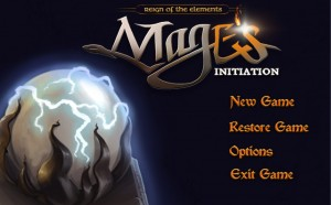 Mage's Initiation: Reign of the Elements Screenshot #1