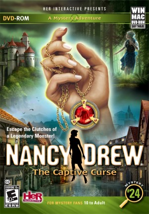 Nancy Drew: The Captive Curse Box Cover