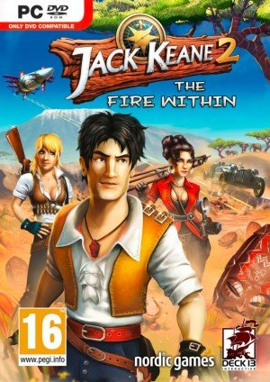Jack Keane 2: The Fire Within Box Cover