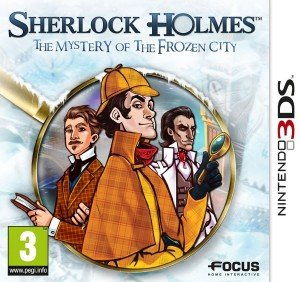 Sherlock Holmes and the Mystery of the Frozen City Box Cover