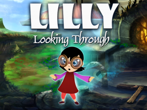 Lilly Looking Through - Cover art