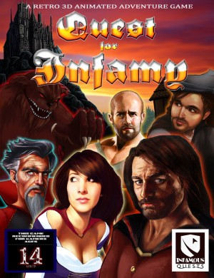 Quest for Infamy Box Cover