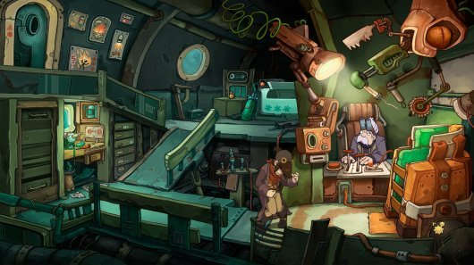 Screenshot for Chaos on Deponia 6