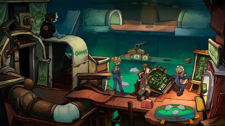 Chaos on Deponia Screenshot 30612