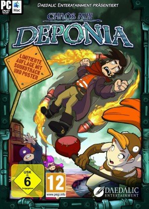 Chaos on Deponia Box Cover