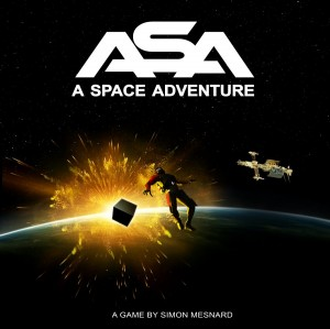 ASA: A Space Adventure - Cover art