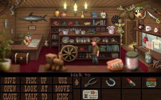 Fester Mudd: Curse of the Gold - Episode 1: A Fistful of Pocket Lint Screenshot 6