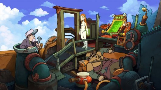 Goodbye Deponia Screenshot 1