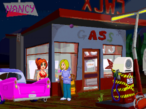 'Nancy the Happy Whore and the Perfidious Petrol Station - Screenshot #7