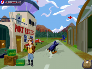 'Johnny Hurricane and the Pirates of the Third Reich - Screenshot #1