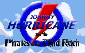Johnny Hurricane and the Pirates of the Third Reich - Cover art