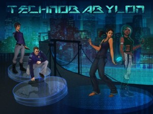 Technobabylon Box Cover