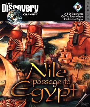 Nile: Passage to Egypt - Cover art