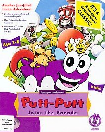 Putt-Putt Joins the Parade - Cover art