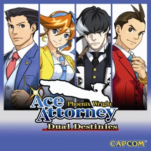 Phoenix Wright: Dual Destinies Box Cover