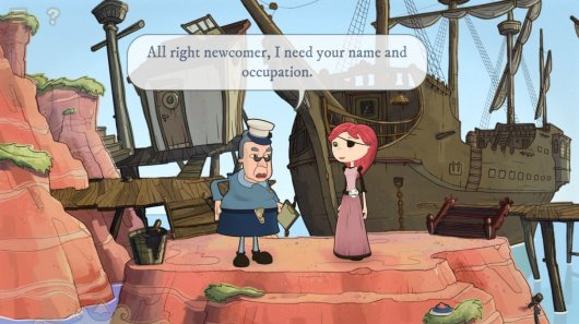 Screenshot for Nelly Cootalot: The Fowl Fleet #0