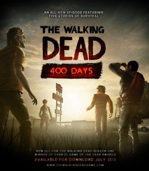 Walking Dead: 400 Days, The - Cover art