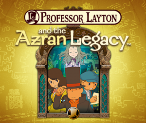 Professor Layton and the Azran Legacy Box Cover