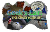 Geek's Lair: The Crazy Scientist