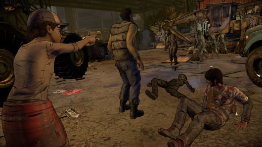 Screenshot for Walking Dead: A New Frontier, The 5