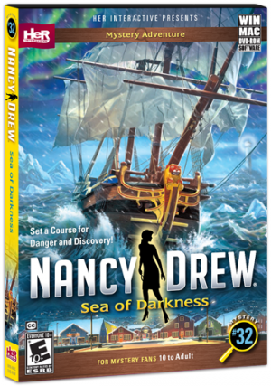 Nancy Drew: Sea of Darkness Box Cover