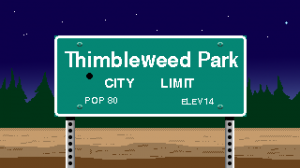 Thimbleweed Park Box Cover