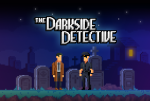 The Darkside Detective Box Cover