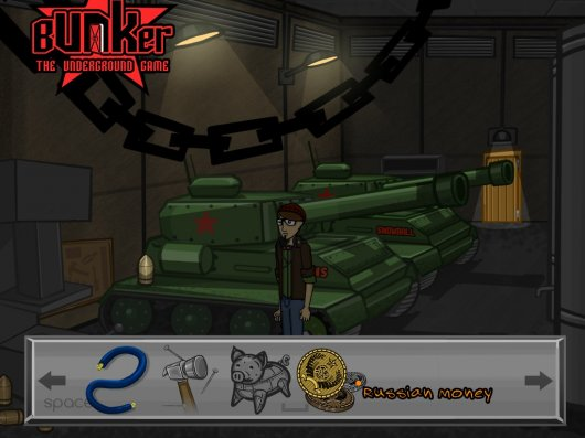 Screenshot for Bunker: The Underground Game #1