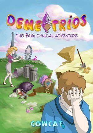 Demetrios: The BIG Cynical Adventure Box Cover