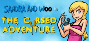 Sandra and Woo in the Cursed Adventure Box Cover