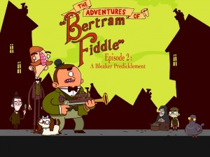 The Adventures of Bertram Fiddle: Episode 2 - A Bleaker Predicklement Box Cover