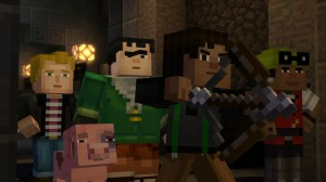 'Minecraft: Story Mode - Episode 1: The Order of the Stone - Screenshot #5