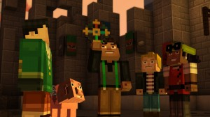 'Minecraft: Story Mode - Episode 1: The Order of the Stone - Screenshot #2