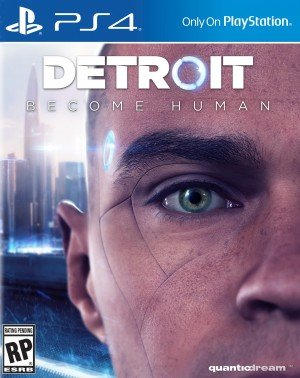 Detroit: Become Human - Cover art