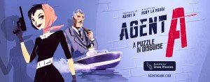 Agent A: A puzzle in disguise Box Cover