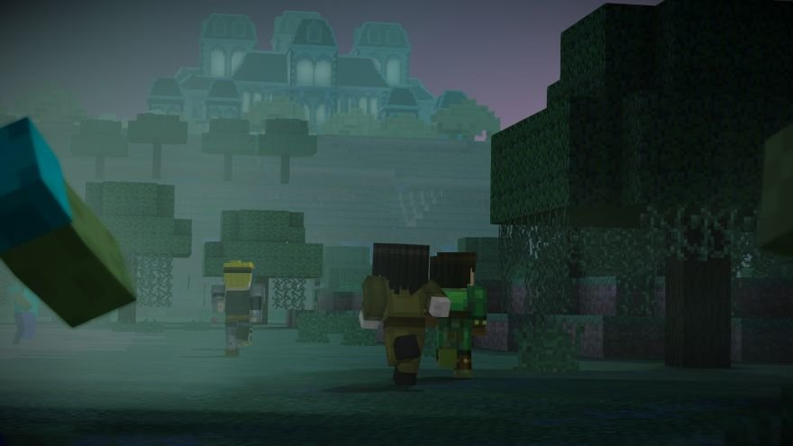 Minecraft: Story Mode - Episode 6: A Portal to Mystery Screenshot 64653