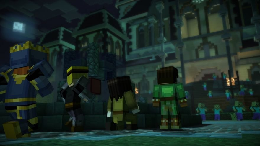 Minecraft: Story Mode - Episode 6: A Portal to Mystery Screenshot 64659