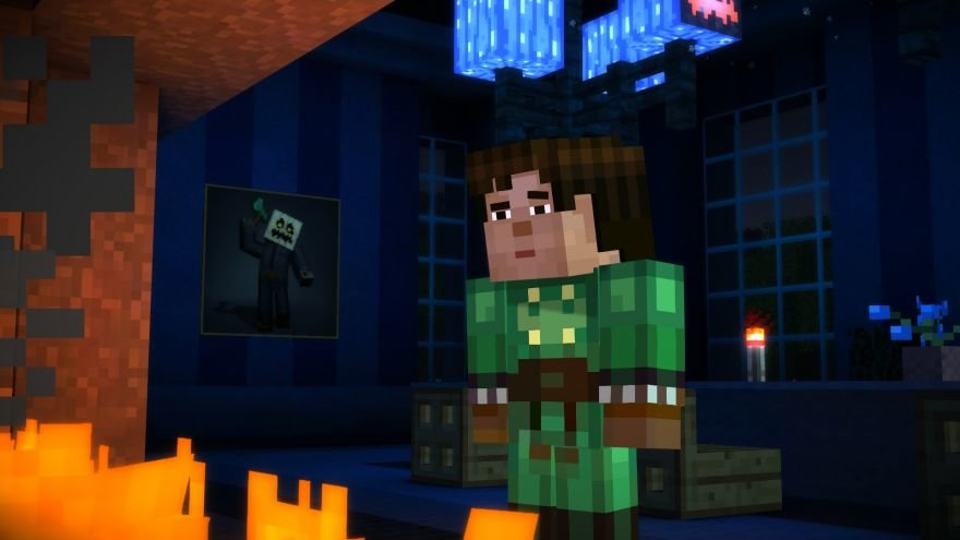 Minecraft: Story Mode - Episode 6: A Portal to Mystery Screenshot 64668