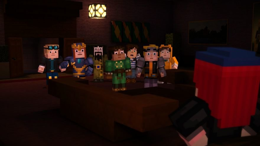 Minecraft: Story Mode - Episode 6: A Portal to Mystery Screenshot 64674