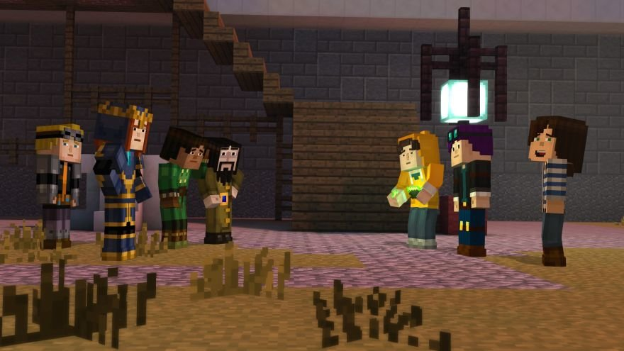 Minecraft: Story Mode - Episode 6: A Portal to Mystery Screenshot 64681