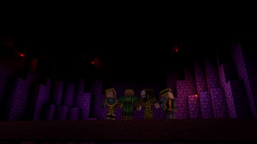 Minecraft: Story Mode - Episode 6: A Portal to Mystery Screenshot 64683