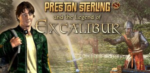 Preston Sterling and the Legend of Excalibur Box Cover
